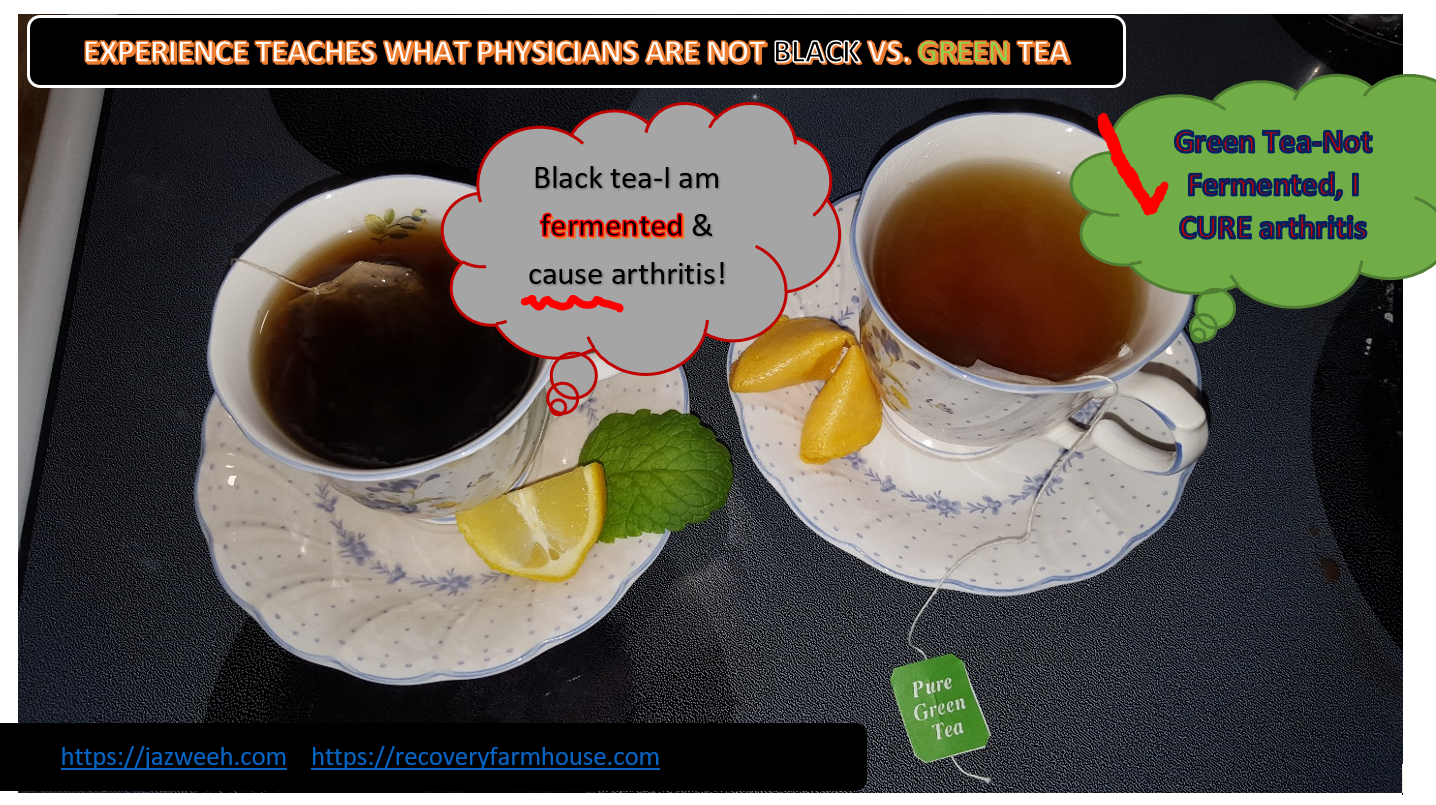 green vs black tea