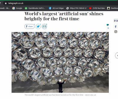 Fake Sun .UK article or Smithsonian article